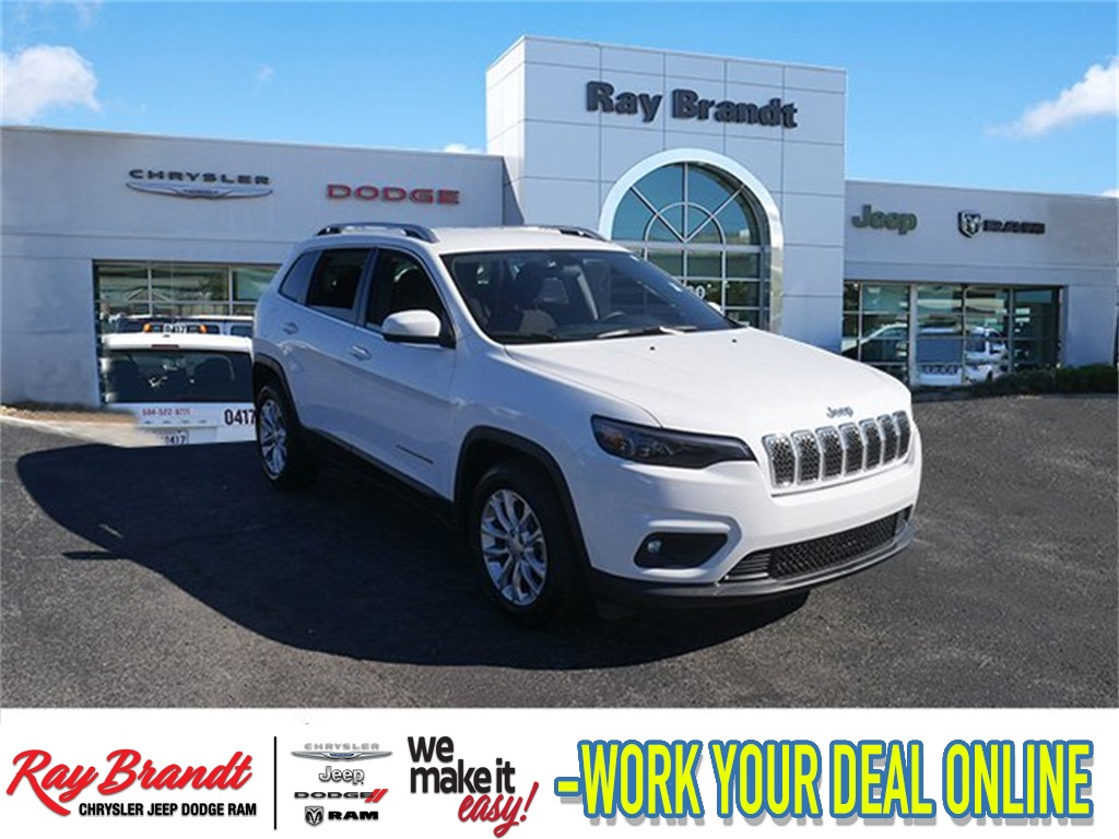 Certified Pre Owned 2019 Jeep Cherokee Latitude 4d Sport Utility In