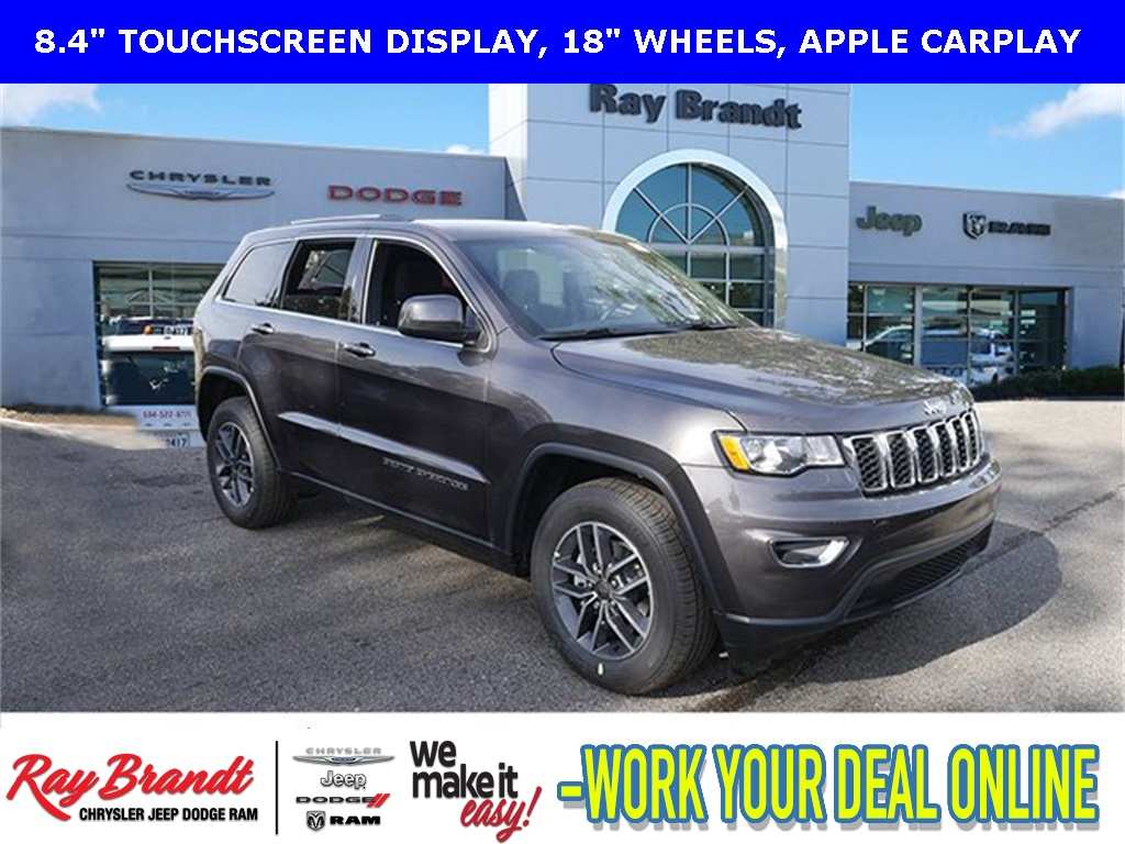 New 2019 Jeep Grand Cherokee Laredo With Navigation Ray Brandt