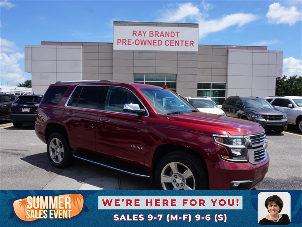 pre owned 2019 chevrolet tahoe premier rwd 4d sport utility ray brandt chrysler dodge jeep ram