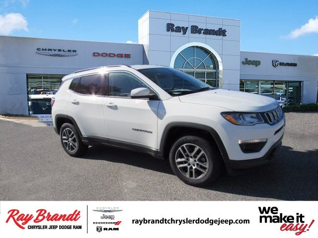 New 2017 Jeep Compass Latitude Sport Utility In Harvey Dt693490