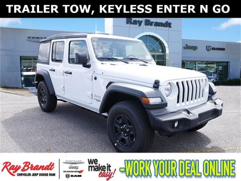 New 2018 JEEP Wrangler Unlimited Sport